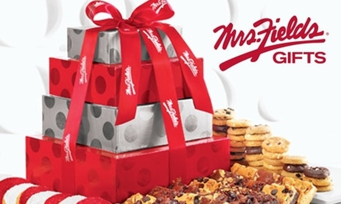 Mrs. Fields: $25 for $50 Worth of Cookies, Brownies, and More Treats at MrsFields.com