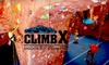 ClimbX Indoor Rock Climbing - Huntington Beach: $45 for Two Introductory Climbing-Technique Classes, Two Months of Unlimited Climbing, and Complete Equipment Rental from ClimbX Indoor Rock Climbing (Up to $265 Value)