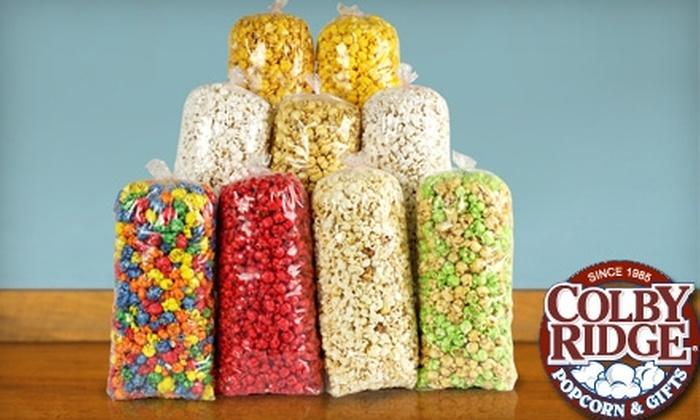 Colby Ridge Popcorn & Gifts: $15 for Popcorn Sampler from Colby Ridge Popcorn & Gifts ($30 Value)