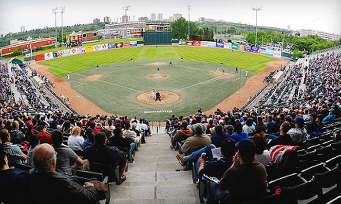 Edmonton Capitals - Rossdale: Two Tickets to Edmonton Capitals Baseball Game at Telus Field on August 25 at 7 p.m.