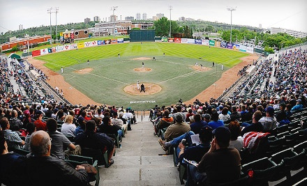 Ticketmaster: Edmonton Capitals vs. Calgary Vipers at Telus Field on Thu., Aug. 25 at 7:00PM: Reserved Grandstand Seating - Edmonton Capitals in Edmonton