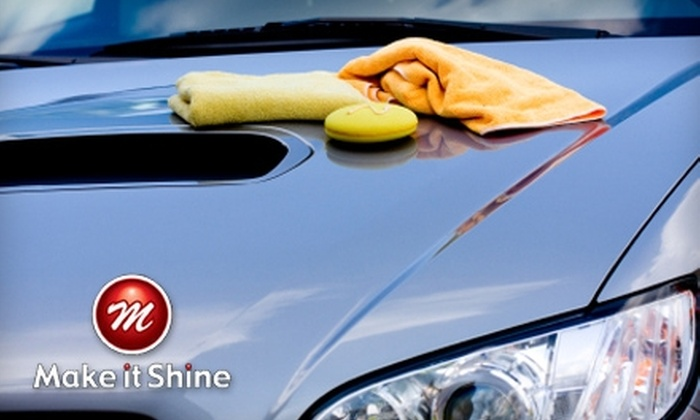 Make It Shine Mobile Detailing - Solana Beach: $65 for an Interior and Exterior Car Wash and Wax from Make It Shine Mobile Detailing