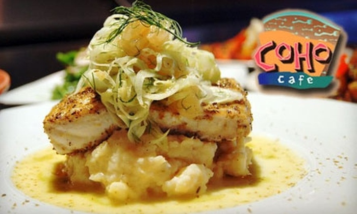 Coho Café - Multiple Locations: $15 for $35 Worth of Stylish American Fare and Seafood at Coho Café