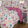 Pinsonic 2- or 3-Piece Reversible Quilt Sets