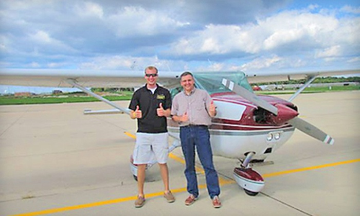 Chicagoland Aviation - Lewis University Airport Executive Terminal: Private-Pilot Course for One or Two from Chicagoland Aviation (Half Off)