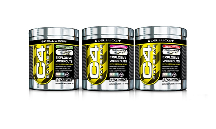 2-Pack of Cellucor C4 Extreme Preworkout Supplement