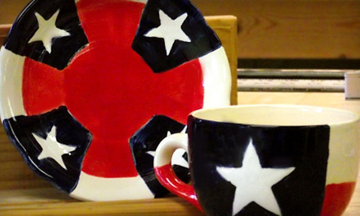 Cibolo Creek Pottery - Schertz: $39 for a Texas Star Cup Pottery Class at Cibolo Creek Pottery in Schertz ($78 Value)
