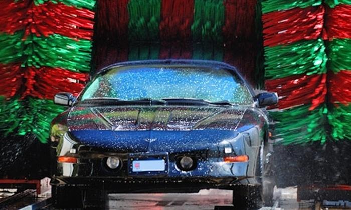 North Salina Car Wash - Syracuse: $30 for Three Premium VIP Car Washes at North Salina Car Wash ($60 Value)
