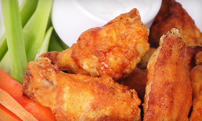 Wings Firehouse - Berwyn: Pub-Fare Dinner for Two or Four at Wings Firehouse in Berwyn (Up to 62% Off)