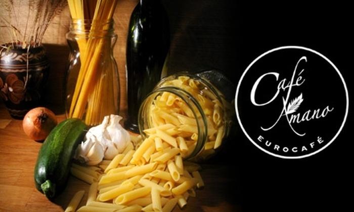 Café Amano - Elmhurst: $15 for $30 Worth of Elegant European Cuisine at Café Amano in Elmhurst