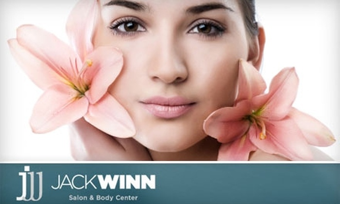 Jack Winn Salon & Body Center - Newport Beach: $45 for $100 Worth of Salon Services or $85 for Eyelash Extensions ($239 Value) at Jack Winn Salon & Body Center in Newport Beach