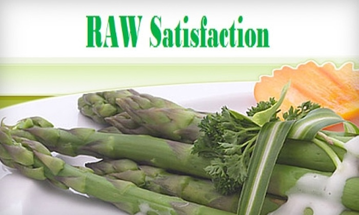 RAW Satisfaction - San Francisco: $69 for a Two-and-a-Half-Hour Cooking Class at Raw Satisfaction in the Mission District ($150 Value)