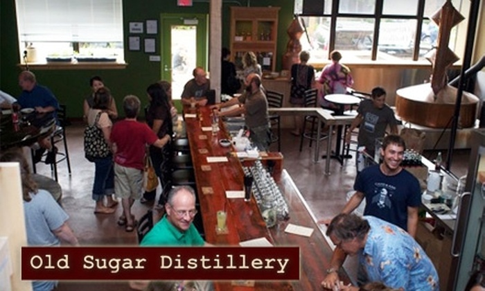 Old Sugar Distillery - Marquette: $10 for $20 Worth of Cocktails, Bottles, and Apparel at Old Sugar Distillery