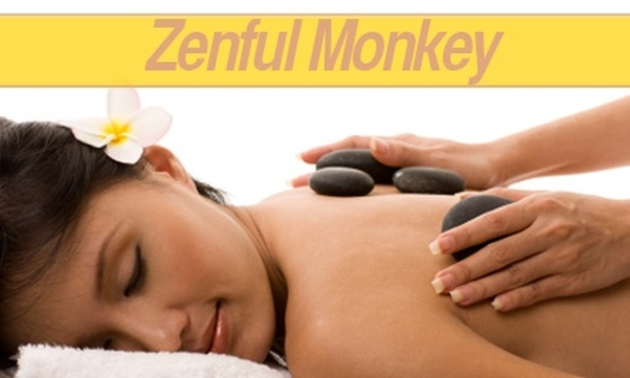 Zenful Monkey - Sellwood - Moreland Improvement League: $40 Aromatherapy Fusion Massage or Hot-Stone Massage at Zenful Monkey ($85 Value)