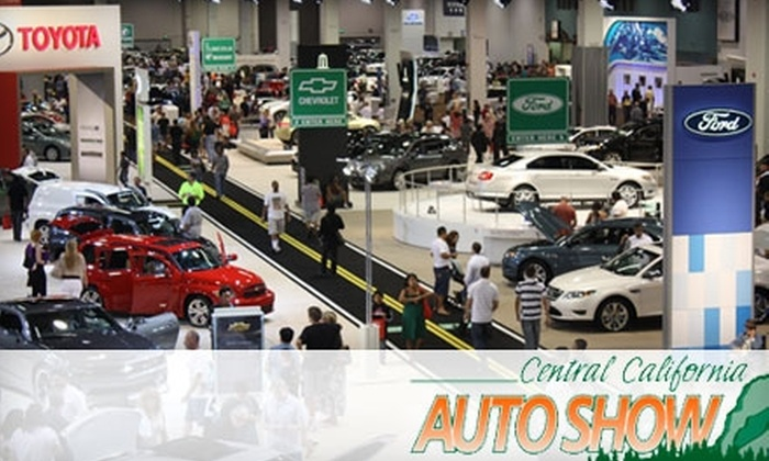 Motor Trend Auto Shows Fresno - Central Fresno: $3 for One Ticket to the 2011-Model Central California Auto Show, Produced by Motor Trend, at the Fresno Convention & Entertainment Center