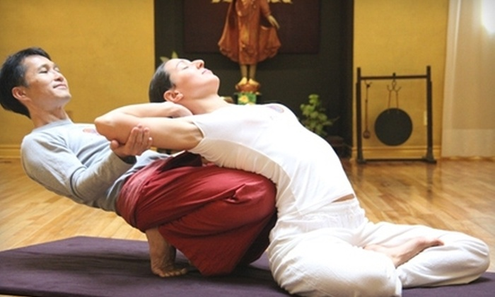 Lotus Palm School of Thai Yoga Massage - Calgary: $25 for an Online Introduction Class at Lotus Palm School of Thai Yoga Massage ($50 Value)
