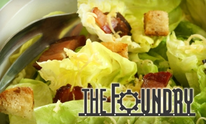The Foundry - Downtown Chattanooga: $7 for $15 Worth of Sandwiches, Spirits, and More at The Foundry
