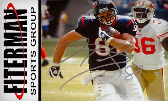 Fiterman Sports Group - Houston: $15 for $30 Worth of Sports Memorabilia at Fiterman Sports Group in Pearland