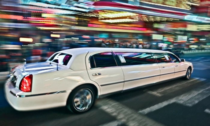 Regal Limo - Long Island: Three-Hour Lincoln-Limo Rental or Five-Hour Chrysler-Limo Rental from Regal Limo (Up to 52% Off)