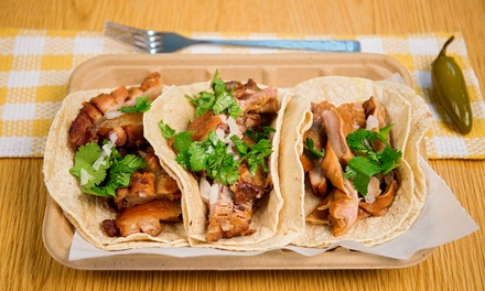 One or Three Groupons, Each Good for $14 Worth of Organic Mexican Food at Meanbean (50% Off)