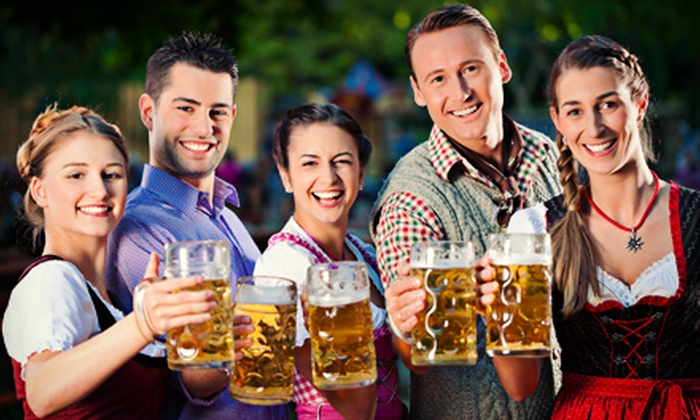 Twin Cities Oktoberfest - Minnesota State Fairgrounds: $25 for Twin Cities Oktoberfest Admission for Two with Beer Steins and 24-Ounce Beers on October 4 or 5 ($50 Value)