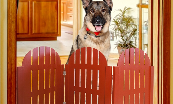 Furhaven Folding Pet Gate