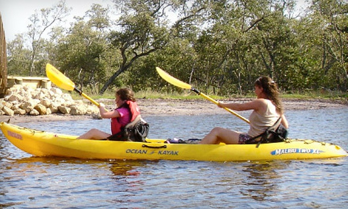 Native Rentals - Surferbus Flamingo Cay, Beachhead: Two-Hour Kayak Trip through Robinson Preserve with Life Vests for Two or Four People from Native Rentals (Up to 53% Off)