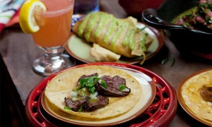 Escorpion: Mexican Food and Drinks for Two or Four at Escorpion (Up to 50% Off)