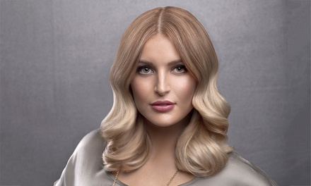 Hair Cut & Colour Pkg with Quarter- ($75) or Half-Head of Foils ($115) at House of Ernest, CBD (Up to $298 Value)