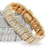 2 CTTW Diamond Bracelet in Brass