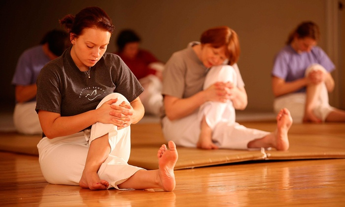 The Peace School - Lakeview: One or Four Yoga Classes at The Peace School (Up to 38% Off)