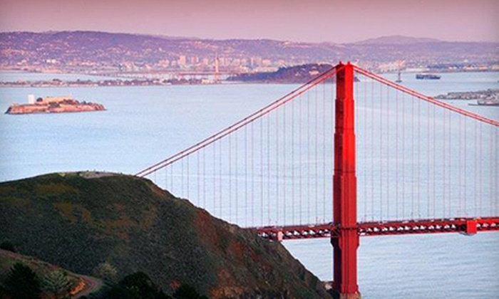 Golden Gate National Parks Conservancy - Marina: Bridge Tours for Two or Four with Photos and Refreshments from Golden Gate National Parks Conservancy (57% Off)