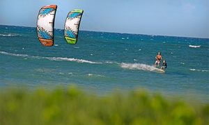 Liquid Surf and Sail: Half-Day Standup Paddleboard or Kayak Rental, or Kiteboarding Lesson for Two from Liquid Surf and Sail (Up to 52% Off)