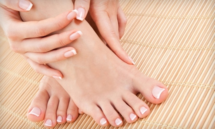 Cheveux - East Hills: $50 for Luxury Hand and Foot Treatment at Cheveux ($100 Value)