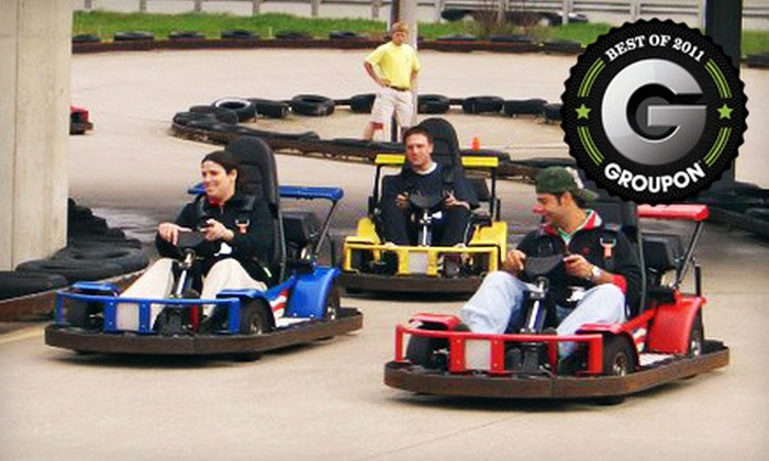 Swings-N-Things Family Fun Park - Olmsted Falls: $14 for an Unlimited One-Day Karts Plus Pass at Swings-N-Things Family Fun Park ($28.99 Value)