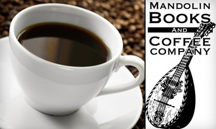Mandolin Books and Coffee Company - Highlands: $5 For $10 Worth of Coffee, Used Books, and More at Mandolin Books and Coffee Company