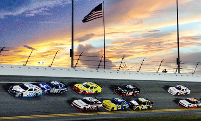 Daytona International Speedway - Daytona Beach: One General-Admission Package to Rolex 24 or Budweiser Shootout at Daytona International Speedway (Up to 51% Off)