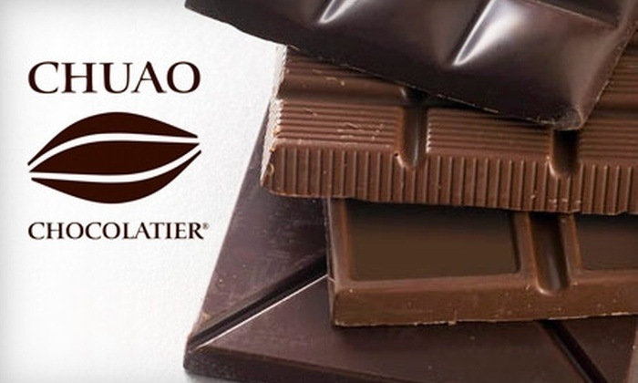 Chuao Chocolatier: $29 for Eight Gourmet Chocolate Bars from Chuao Chocolatier
