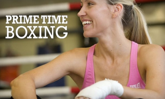 Prime Time Boxing - Multiple Locations: $17 for 30-Minute Private Workout with Certified Trainer and 45-Minute Group Class Plus Nutritional Guide and Jump Rope from Prime Time Boxing