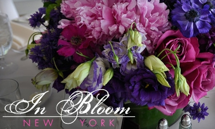 In Bloom New York - Upper West Side: $35 for $75 Worth of Floral Goods at In Bloom New York