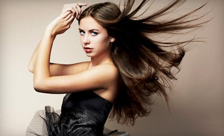 Haircut with Head- and Neck-Massaging Shampoo and Blow-Dry Styling - Shampoo Salon  in Shrewsbury