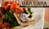 Yellow Plum - Bloomfield: $20 for $40 Worth of Italian Cuisine and Drinks at Bar Cara