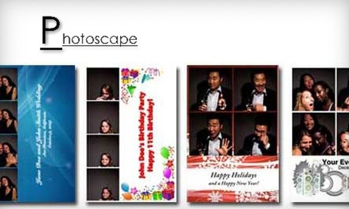 Photoscape - Pittsburgh: $495 for a Four-Hour Photo-Booth Rental Package from Photoscape