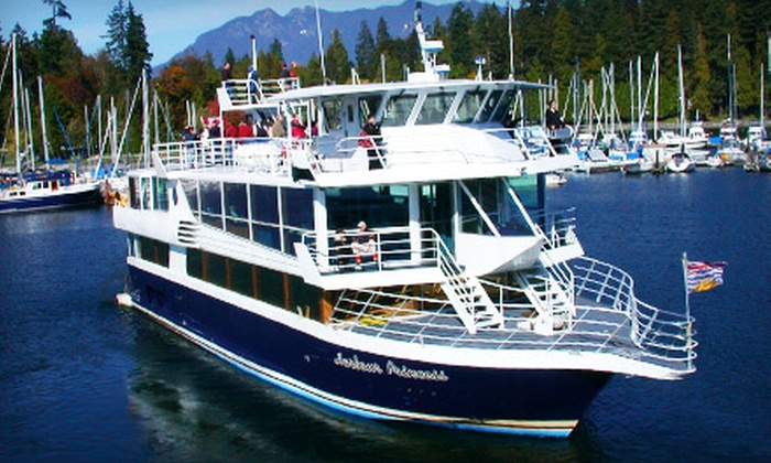 Harbour Cruises & Events - Downtown Vancouver: 38 for One Ticket to the Celebration of Light Fireworks Casual Cruise on August 3 from Harbour Cruises & Events ($76.16 Value)