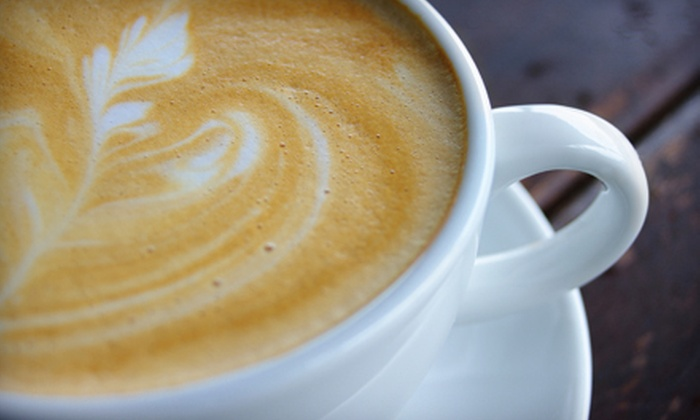 Cafe D' Cappuccino - Kenner: Café Fare and Drinks for Two or Four at Cafe D'Cappuccino in Kenner (Up to 58% Off)