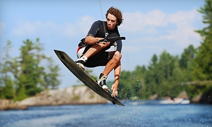 All Wet Water Sports - Waterloo: $25 for $50 Worth of Water-Sports Equipment and Rentals at All Wet Water Sports