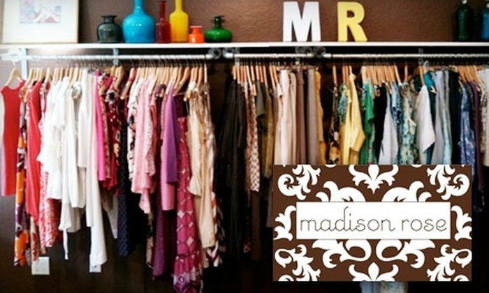 Madison Rose - Multiple Locations: $40 for $90 Worth of New and Gently Used Designer Maternity Wear at Madison Rose Maternity