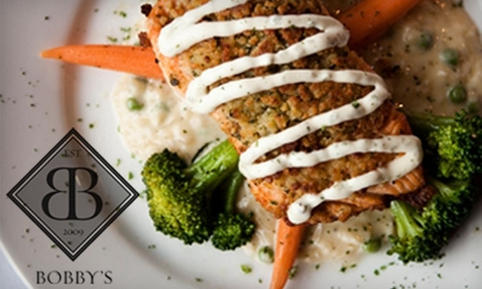 Bobby's Grille - Wellesley: $20 for $40 Worth of Upscale American Fare at Bobby's Grille in Wellesley Hills