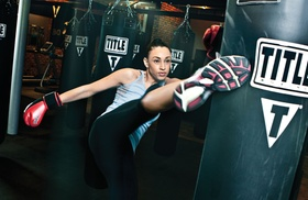 TITLE Boxing Club: $16 for One Week of Boxing and Kickboxing Classes at Title Boxing Club in Cary ($49.50 Value)