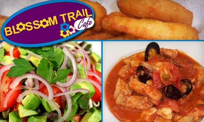 Blossom Trail Cafe - Sanger: $10 for $20 Worth of Italian-Inspired Fare and Drinks or $7 for $15 Worth of Breakfast and Lunch at Blossom Trail Cafe